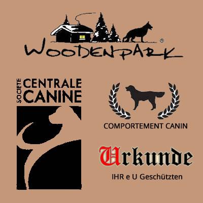 logo des certificats de comportement canin et élevage de altdeutsche schäferhunde